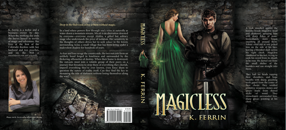 magicless book cover